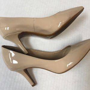 ANTONIO MELANI nude heels size 8M